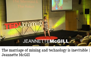 The marriage of mining and technology is inevitable | Jeannette McGill