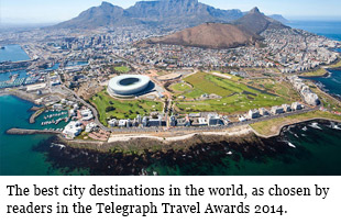 The best city destinations in the world, as chosen by readers in the Telegraph Travel Awards 2014