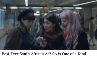 Best Ever South African Ad! SA is One of a Kind!